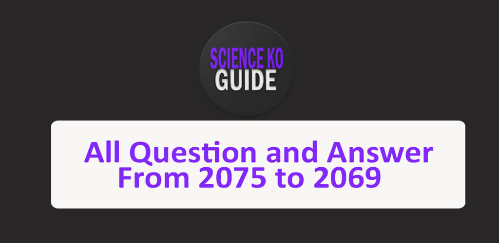 Science Ko Guide for Class 10